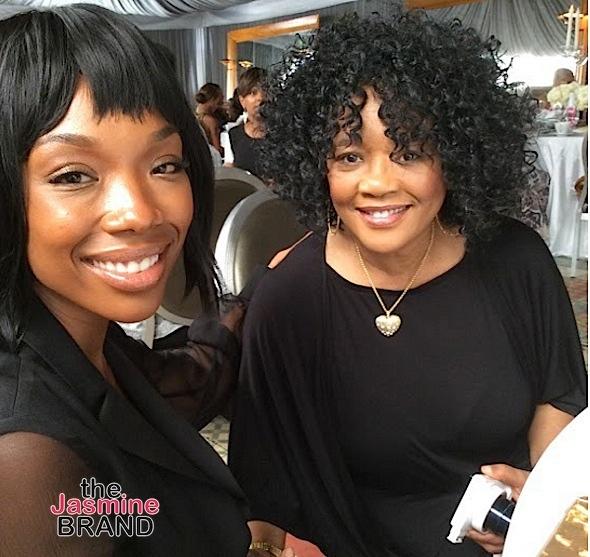 Brandy & mother Sonya Norwood