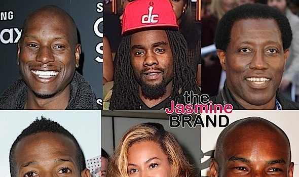 Celebrity Men React to Beyonce's 'Lemonade': Tyrese, Wale, Tyson Beckford, Wesley Snipes, Marlon Wayans