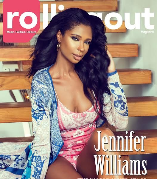 Jennifer Williams Recalls Ex Husband Throwing Drink In Her Face + Addresses FallOut With Claudia Jordan