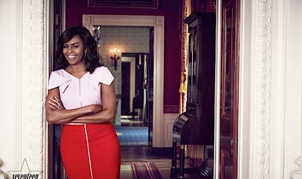 "First Lady Michelle Obama: ""I never thought I'd be First Lady! I didn't believe it until we walked into the White House!"""