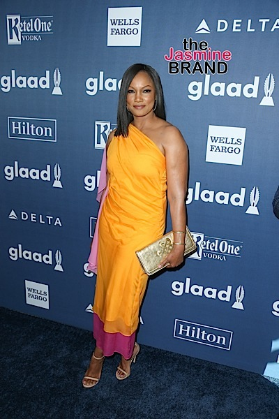 04/02/2016 - Garcelle Beauvais - 27th Annual GLAAD Media Awards - Arrivals - The Beverly Hilton Hotel - Beverly Hills, CA, USA - Keywords: Vertical, People, Person, Arrival, Portrait, Photography, Arts Culture and Entertainment, Celebrity, Celebrities, Topix, Bestof, Gay & Lesbian Alliance Against Defamation, GLBT, LGBT community, equality, lesbian, gay, bisexual, and transgender, Los Angeles, California Orientation: Portrait Face Count: 1 - False - Photo Credit: PRPhotos.com - Contact (1-866-551-7827) - Portrait Face Count: 1