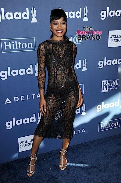 04/02/2016 - Keke Palmer - 27th Annual GLAAD Media Awards - Arrivals - The Beverly Hilton Hotel - Beverly Hills, CA, USA - Keywords: Orientation: Portrait Face Count: 1 - False - Photo Credit: David Gabber / PRPhotos.com - Contact (1-866-551-7827) - Portrait Face Count: 1