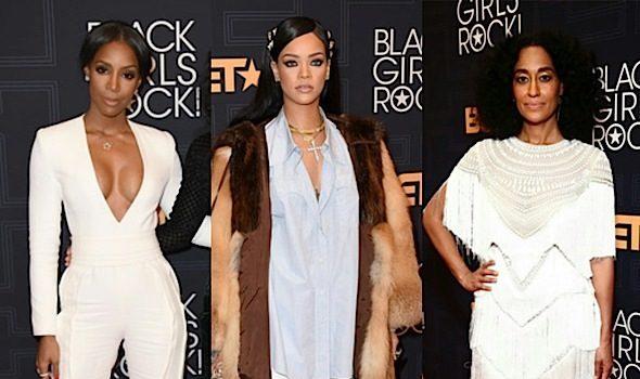BET's Black Girls Rock: Kelly Rowland, Rihanna, Tracee Ellis Ross, Shonda Rhimes, Hillary Clinton, Eva Marcille, Monica [Photos]