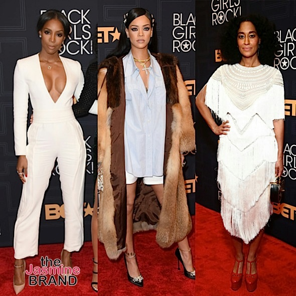 BET's Black Girls Rock: Kelly Rowland, Rihanna, Tracee Ellis Ross, Shonda Rhimes, Hillary Clinton, Eva Marcille, Monica [Photos]