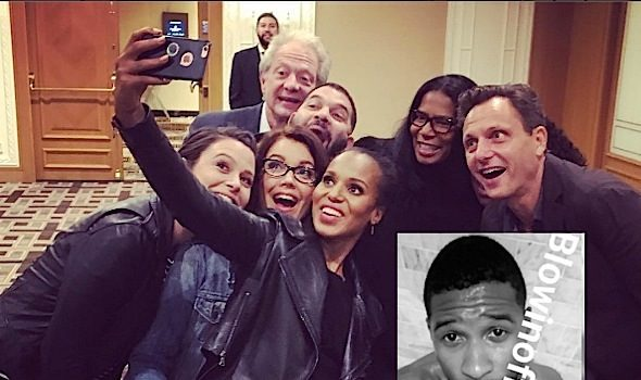Kerry Washington Pregnant? + Usher Reacts to D**k Pic! [Photos]