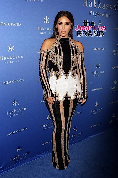 """04/09/2016 - Kim Kardashian West - Hakkasan Las Vegas 3rd Anniversary Celebration Hosted by Kim Kardashian West - Arrivals - Hakkasan Nightclub MGM Grand Hotel & Casino - Las Vegas, NV, USA - Keywords: Vertical, Full Length Shot, Ring, American reality television personality, actress, socialite, businesswoman, model, Full Length Black and Gold Dress, Earrings, Jewelry, Long Wavy Black Hair, Person, People, Arrival, Portrait, Photography, Arts Culture and Entertainment, """"Keeping Up with the Kardashians"""", """"Dash Dolls"""", Woman, Celebrities, Celebrity, Nevada Orientation: Portrait Face Count: 1 - False - Photo Credit: PRN / PRPhotos.com - Contact (1-866-551-7827) - Portrait Face Count: 1"""