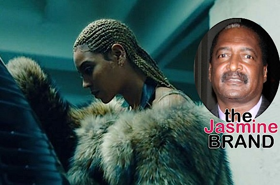 Mathew Knowles Side Steps Cheating, Domestic Violence Questions When Asked About Beyonce's 'Lemonade': I've never hit my daughter.