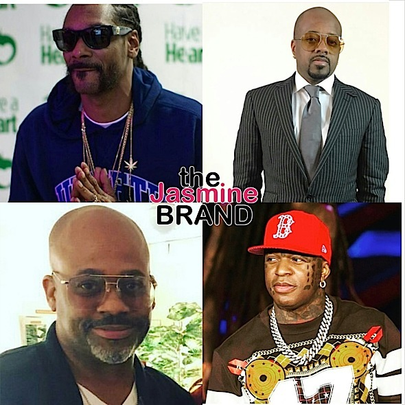 music moguls-snoop-jermaine dupri-dame dash-birdman-the jasmine brand
