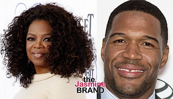 Oprah Reacts to Michael Strahan Blind-Siding Kelly Ripa: Not good.