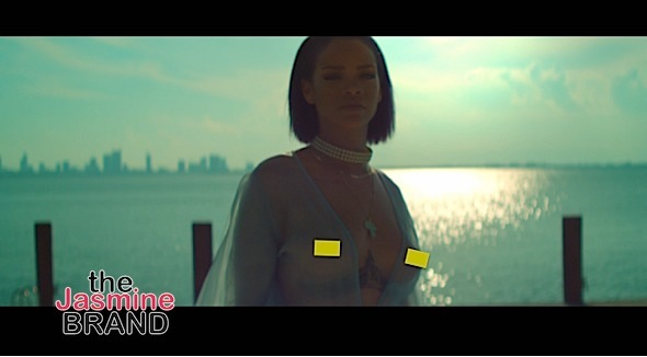 rihanna needed me video-the jasmine brand