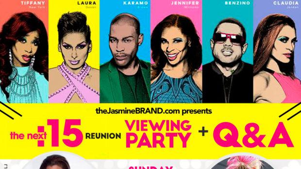 theJasmineBRAND Hosts 'The Next 15' Reunion Viewing Party With Claudia Jordan