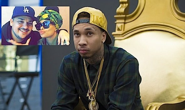 Tyga Is Happy About Blac Chyna's Engagement, Worries About Their Son