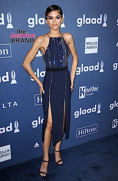 04/02/2016 - Zendaya - 27th Annual GLAAD Media Awards - Arrivals - The Beverly Hilton Hotel - Beverly Hills, CA, USA - Keywords: Orientation: Portrait Face Count: 1 - False - Photo Credit: David Gabber / PRPhotos.com - Contact (1-866-551-7827) - Portrait Face Count: 1