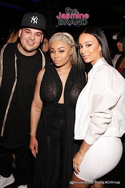 Rob Kardashian, Blac Chyna, Draya Michele