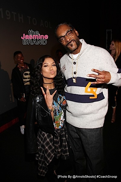 Jhené Aiko and Snoop