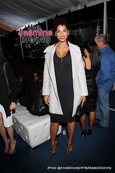 BELL AIR, CA - MAY 22: Nicole Murphy seen at Johnny Gill's 50TH Birthday Party on Sunday May 22, 2016 at a private residence in Bell Air, CA. (Photo by Arnold Turner/ATA)