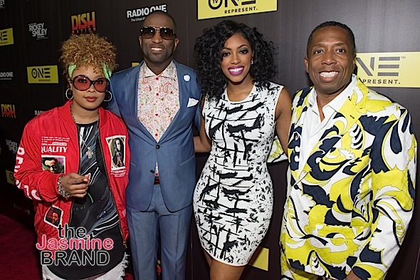 "Rickey Smiley, Porsha Williams, Joseline Hernandez Attend ""Rickey Smiley For Real"" Premiere [Photos]"