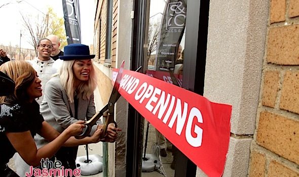 Teyana Taylor Opens New Business, Spaces & CO + Iman Shumpert, Karen Civil Attend [Photos]