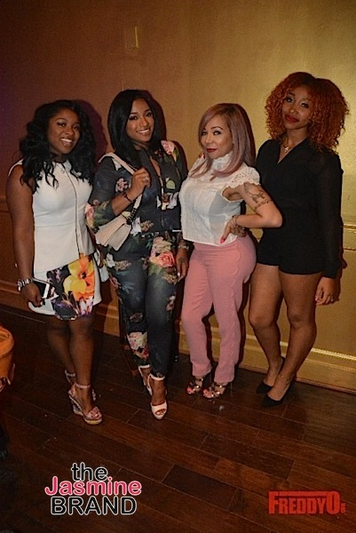 Tameka 'Tiny' Harris Hosts Brunch: T.I., Monyetta Shaw, Toya Wright, Reginae Carter Attend [Photos]