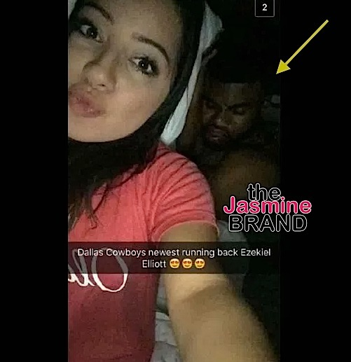 Woman Snaps Photo In Bed With Cowboys Player Ezekiel Elliott [Photo]