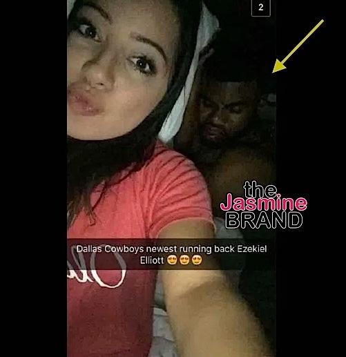 Woman Snaps Photo In Bed With Cowboys Player Ezekiel Elliott [Photo]