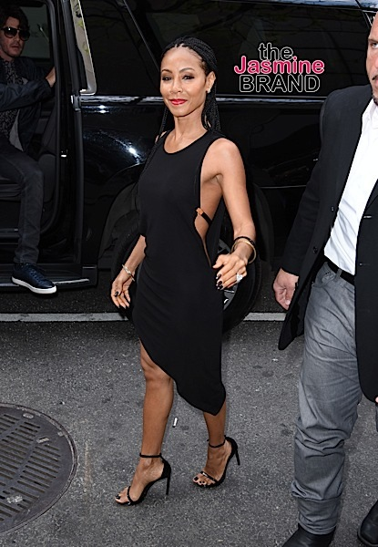 "Jada Pinkett Smith enters the Today Show studios, NYC to tape an interview to promote her show ""Gotham"" Ref: SPL1279365 110516 Picture by: Derek Storm / Splash News Splash News and Pictures Los Angeles: 310-821-2666 New York: 212-619-2666 London: 870-934-2666 photodesk@splashnews.com"