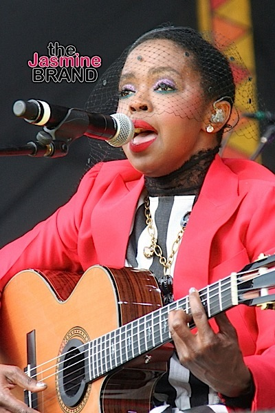 Lauryn Hill performs at the 2016 New Orleans Jazz & Heritage Festival