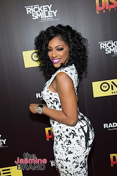 Porsha Williams arrives