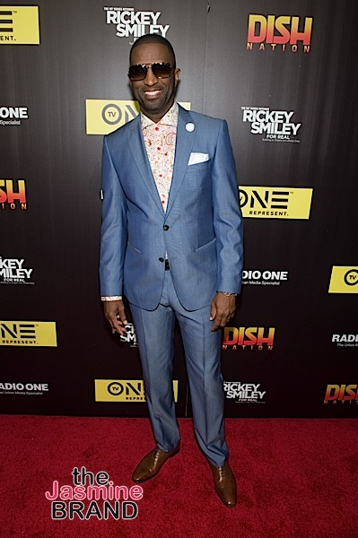 Rickey Smiley Says Society Has Issues W/ Black Boys Wearing Locks But Embraces Them Wearing Dresses