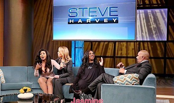 Steve Harvey Calls Sister Patterson: Straight Up Crazy [VIDEO]