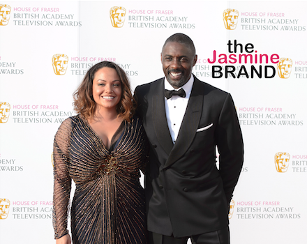 What Break-Up? Idris Elba Hits Event With Ex Girlfriend/Baby Mama Naiyana Garth [Photo]