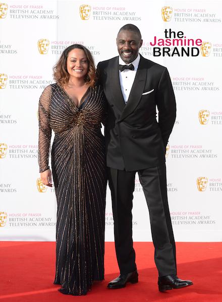 What Break-Up? Idris Elba Hits Event With Ex Girlfriend/Baby Mama Naiyana Garth [Photo]
