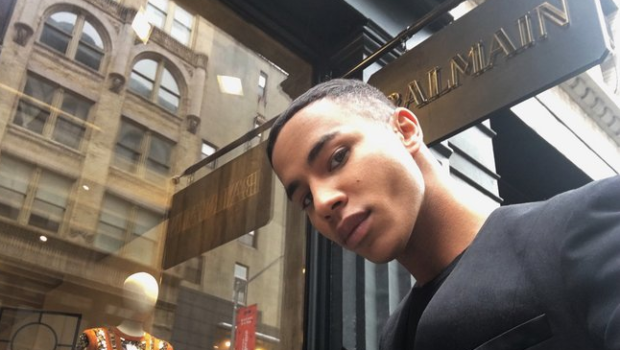 Olivier Rousteing Talks Balmain's Success, H&M Collaboration & Upcoming Collection