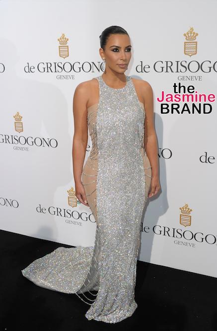 Kim Kardashian attends the 69th Cannes Film Festival