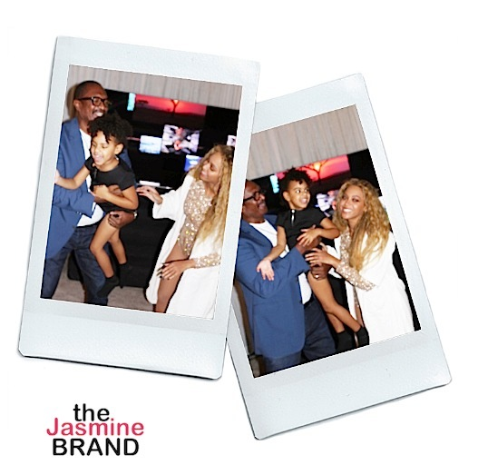 Beyonce, Blue Ivy, Jay Z & Mathew Knowles Spend Quality Time In Houston [Photos]