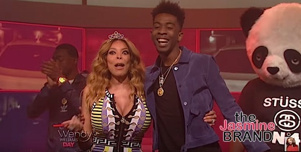 Desiigner Performs 'Panda' On The Wendy Williams Show [WATCH]