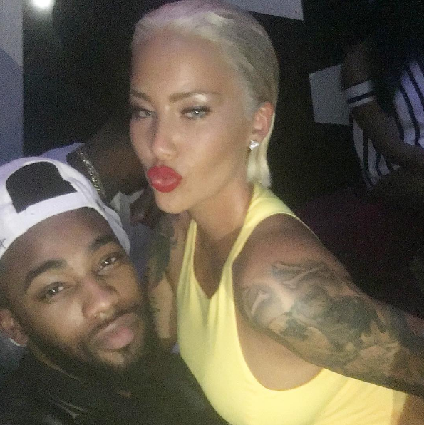 Amber Rose Debuts New Hair! [Photos]