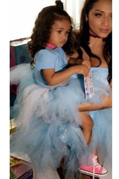 Chris Brown's Daughter Turns 2 With Frozen Theme Party [Photos]