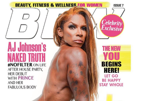 AJ Johnson Strips Nude, Embraces Flaws: real DOES exist!