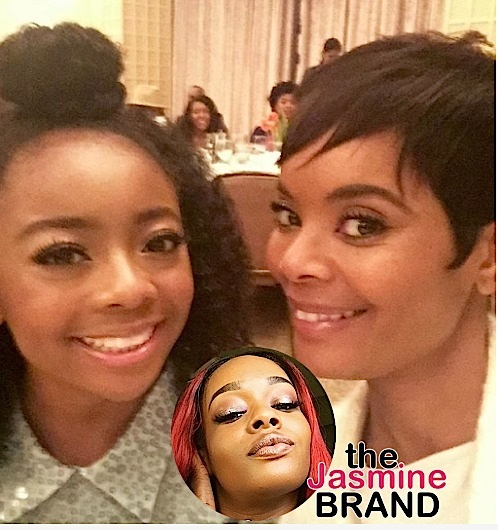 Skai Jackson's Mom Reacts to Azealia Banks-the jasmine brand