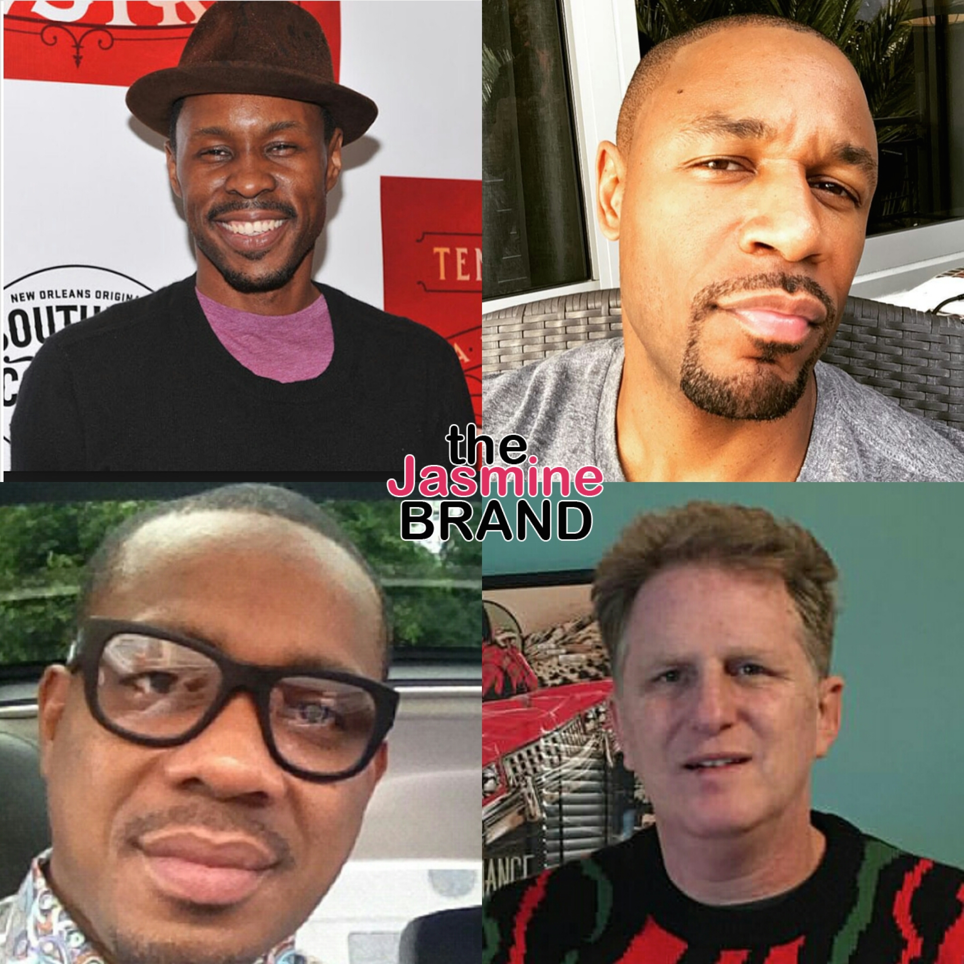 Wood Harris, Duane Martin, Tank, Michael Rapaport New Edition-the jasmine brand