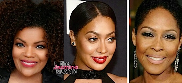 La La Anthony, Yvette Nicole Brown, Monica Calhoun Cast In 'New Edition' Movie