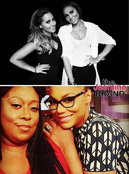 The Real's Adrienne Bailon, Loni Love, Tamera Mowry & Jeannie Mai Pen Open Letters to Tamar Braxton