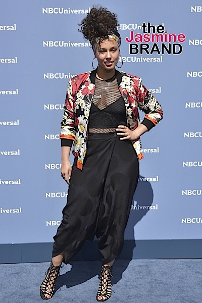 Alicia Keys at NBCUniversal 2016 Upfront Presentation