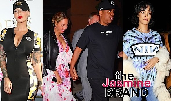 Beyonce & Jay Z Dine in NYC, Rihanna Goes Clubbing, Amber Rose Celebrates Launch + Mariah Carey, James Packer, Garcelle Beauvais