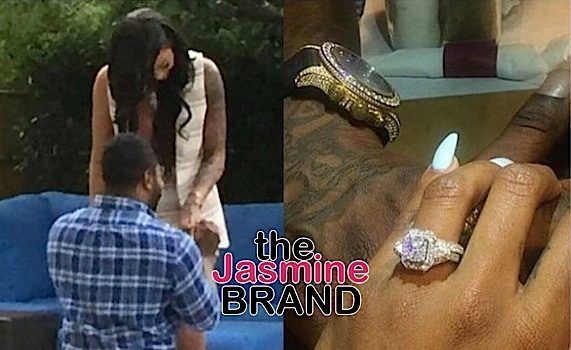Reality Stars Bambi & Lil Scrappy Engaged