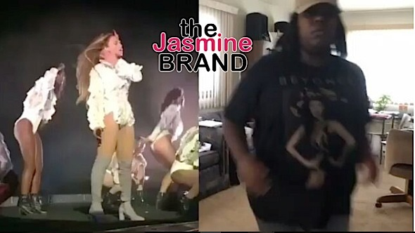 beyonce fan-briyonce-nails choreography-the jasmine brand