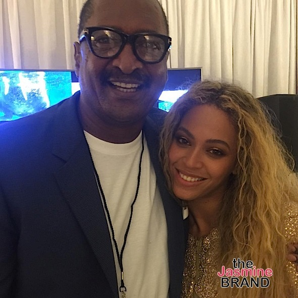Beyonce's Dad Mathew Knowles Blind Sided By Pregnancy: Someone texted me after she made the announcement.