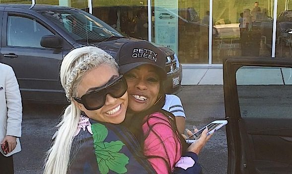 Blac Chyna Gifts Mother Tokyo Toni New Car! [VIDEO]