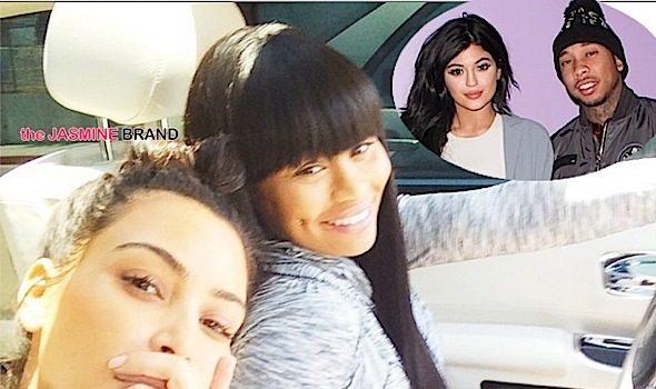 Kim Kardashian: Blac Chyna was my friend, but I had to take Kylie's Side With Tyga. [VIDEO]